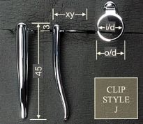 Clip style J